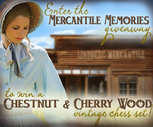 Enter the MERCANTILE MEMORIES Giveaway!